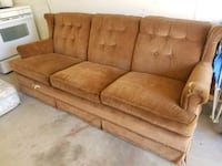 Old timey sofa and hideaway bed. Big Spring, 79720