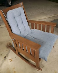 Solid Wood Rocking Chair w/ Cushions  Silver Spring, 20906