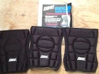 3 bike elbow pads.  Never been used. 3725 km
