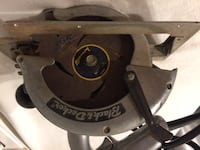 Vintage Black and Decker Heavy Duty Saw (no.730) Type A Wilmington