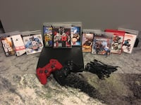 PlayStation 3(PS3)with (2) controllers (10)games Bowie, 20720