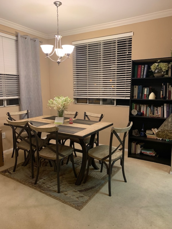 Urban Rustic Dining Room Set