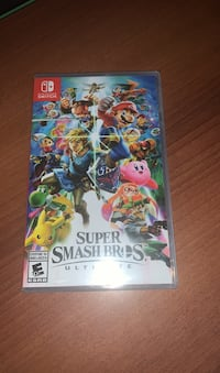 Selling brand new sealed super smash bros for nintendo switch   Markham, L3S 3T6