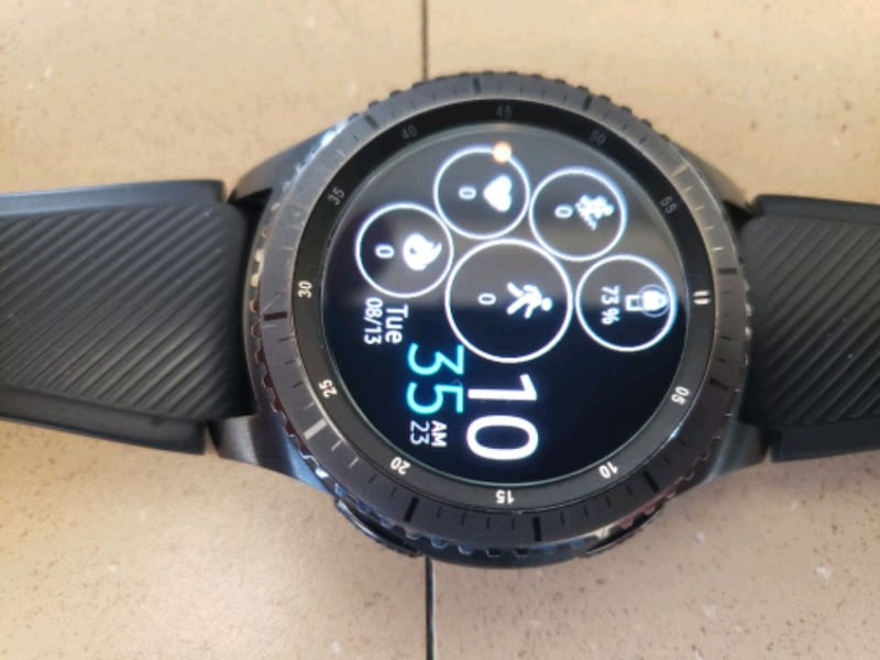 SAMSUNG GALAXY GEAR S3 ( MARKET PRICE $300) 0