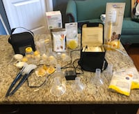Medela Double Electric Pump with many extras