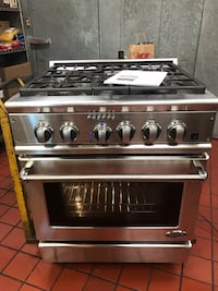 DCS 30in Professional Stainless steel gas range oven Vineland, 08361