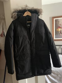 Men's small North Face winter jacket
