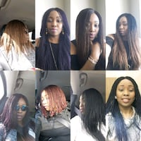 women's braided wigs different colors& styles   Fort McMurray, T9H 4K1