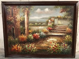 Beautiful oil painting purchased in New Hope