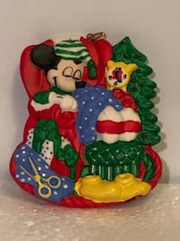 Disney Mickey Mouse Christmas Ornament Herndon, 20170