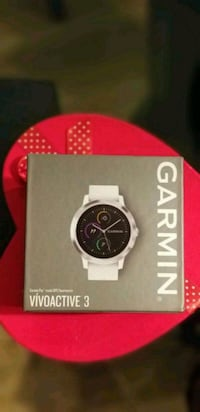 White Garmin smart watch with built in GPS  Richmond Hill, L4S 2P5