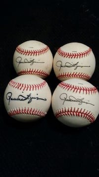 (2) Rollie Fingers signed Official League Baseb Las Vegas, 89115
