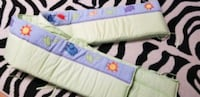 Crib bumper pad -washable  Cambridge