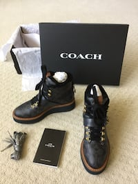 New Coach booties for woman size 5.5 Chantilly, 20152