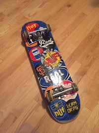 two black and red skateboard 3161 km