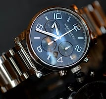 Montblanc Timewalker Chronograph automatic watch with SS bracelet