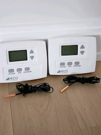 2 new peco programmable thermostats