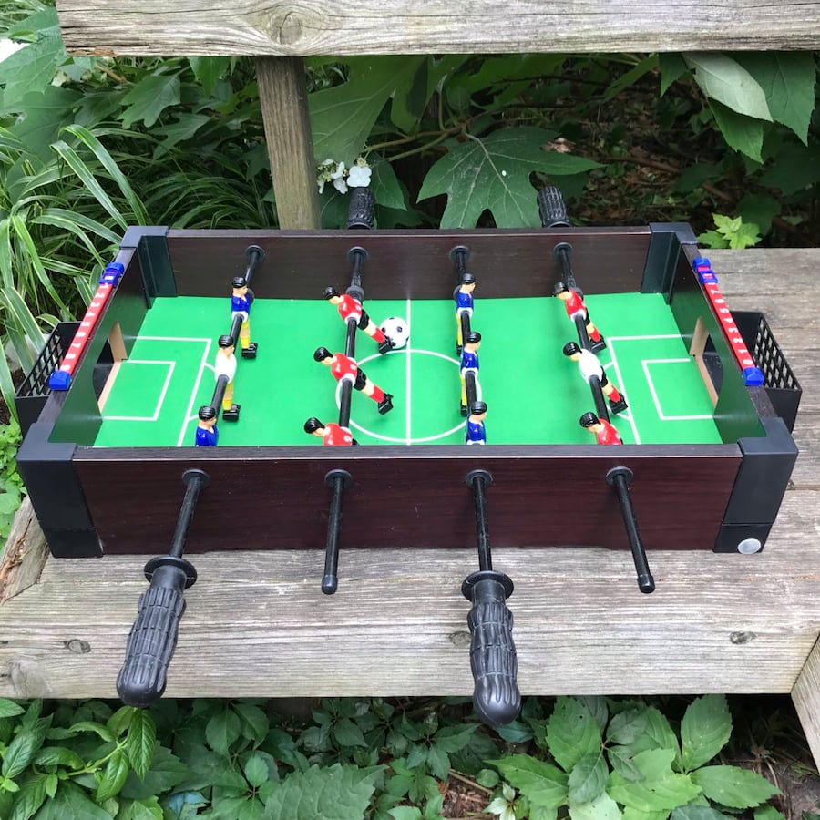 Tabletop Foosball Game / Toy
