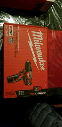 Milwaukee M12 drill New  Jersey City, 07305