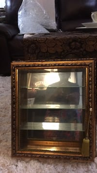 Glass  wall hanging cabinet  new by Creazioni Artistiche made in Italy Baltimore, 21206