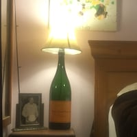3L Champagne bottle lamp