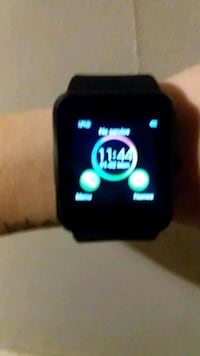 black smartwatch with black strap Bryceville, 32009
