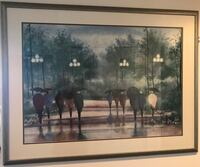 black wooden framed painting of people Chicago, 60654