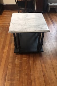 Real Marble side table
