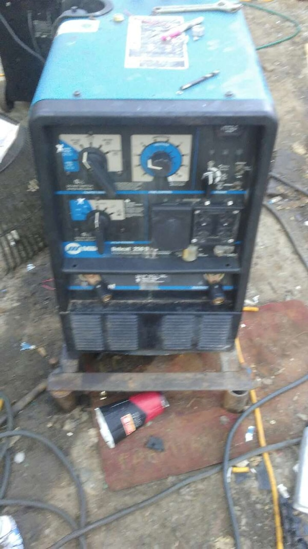Used Welders For Sale >> Miller Bobcat 250 D Welder Generator