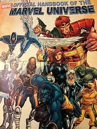 Marvel Official handbook of the marvel universe Middle River, 21220