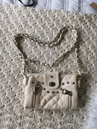 Cream Crossbody Purse