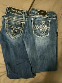 Rock Revival miss me women's 29 waist both 60 buck Salt Lake City, 84118