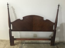 Queen size Thomasville mahogany headboard only