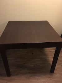 Rectangular brown wooden coffee table Vancouver, V6T