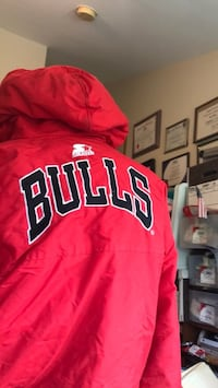Authentic Chicago  Bulls youth Starter jacket Rockville, 20852