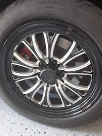 Pretty much new 5 lug jegs spike setup with Mickey Thompson  Radials Ardmore, 38449