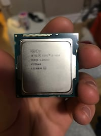 intel core i5-4460 Quad-core 6M cache. And Heatsink Fan Vaughan