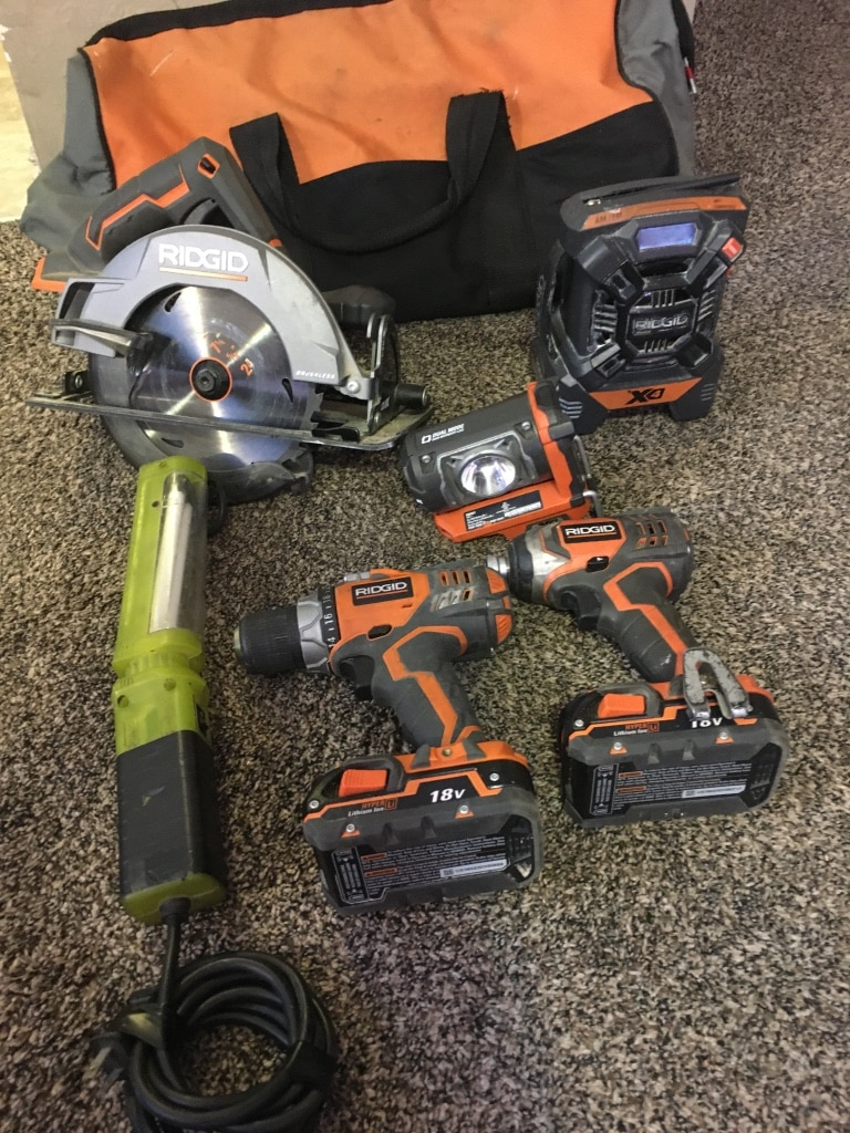 Photo Rigid power tools