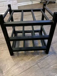 two wooden IKEA wine racks Virginia Beach