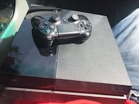 black Sony PS4 console with controller Fort Myers, 33919