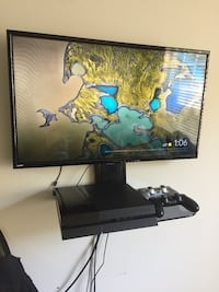 """PS4, 38"""" TV w/ glass mount and more Charlotte, 28269"""