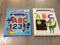 Write and wipe book abc alphabet Vaughan, L4H 3L9