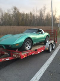 Teal corvette 79 new drivetrain fun car. Italy, 14512