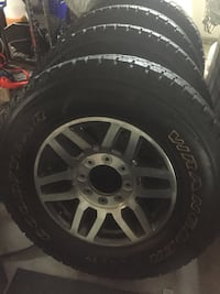 F250/350 wheels and tires. Never used  Virginia Beach, 23454