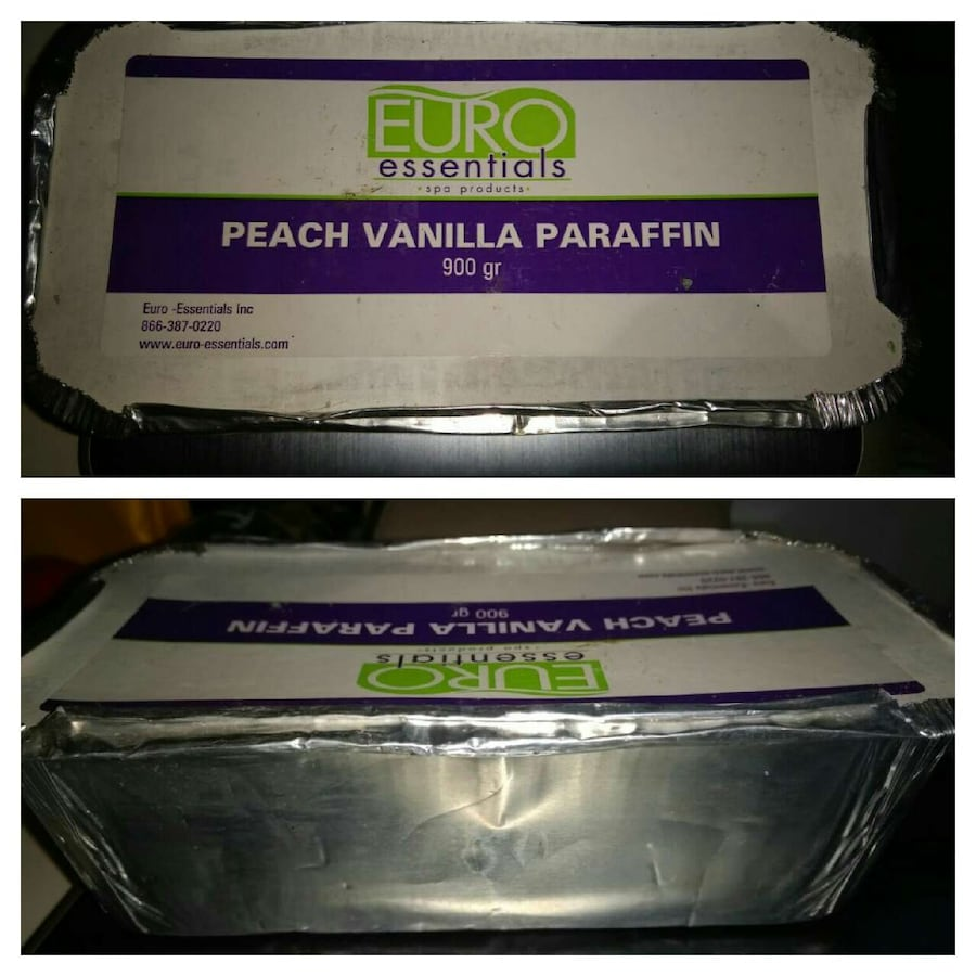 Paraffin Wax - Peach Vanilla- not opened