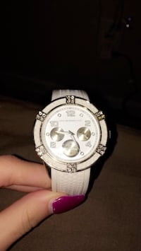 White chronograph watch Grayson, 30017