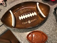 plastic football shaped chip  Potomac