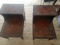 Vintage End Tables from the 1900's