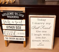 Multiple Wedding Signs and Decor for Sale! Lakewood, 80232