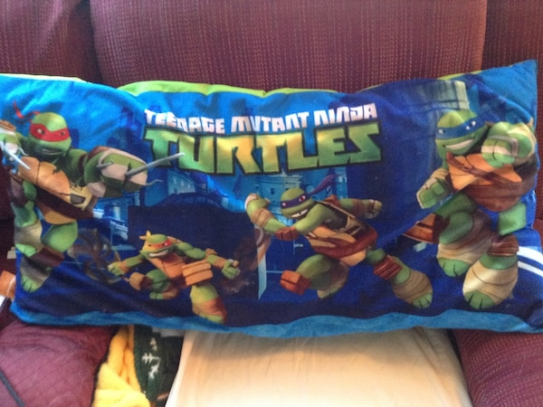 TMNT print throw pillow 554db90a-1d4f-45d9-86b1-a95c5830765c